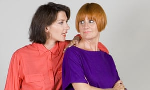 Melanie Rickey and Mary Portas