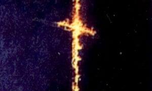 Cross burning KKK