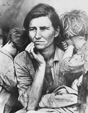 1936: Migrant Mother