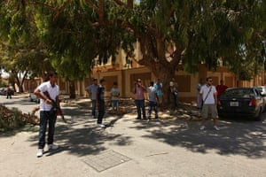 Libya Elections: Citizens take up arms to protect the polling stations in Benghazi