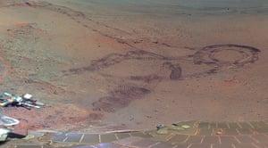 NASA Mars: Fresh tracks from the rover