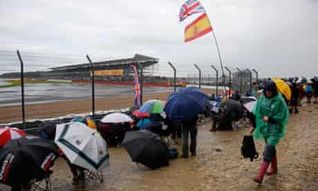 Rainy Silverstone
