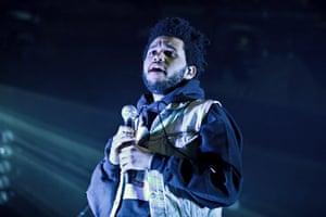 Wireless festival: Canadian R&B artist The Weeknd aka Abel Tesfaye