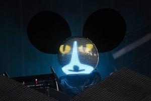 Wireless festival: Deadmau5 headline the main stage on Friday