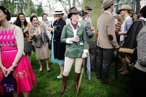 Chap Olympiad 2012: Spectators watch the sporting events