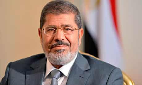 Mohamed Morsi, president of Egypt