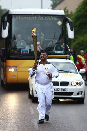 Olympic torch day 51