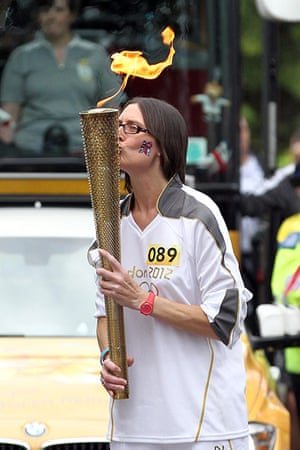 Olympic torch day 51 : Olympic torch day 51