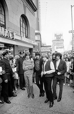 Rolling Stones: Outside the Hotel Astor