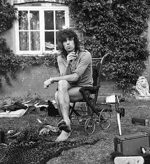 Rolling Stones: Keith at Redlands, West Sussex, 31 July 1973