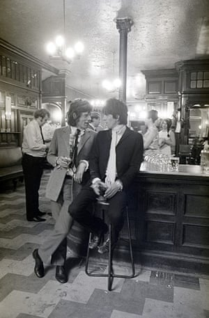 Rolling Stones: Keith and Mick, London, 30 June 1967