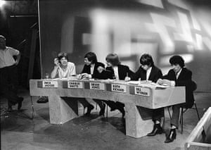 Rolling Stones: Juke Box Jury at the BBC in London, 27 June 1964