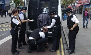 Man being arrested during the 2011 riots