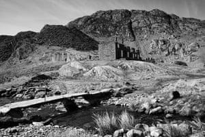 Wales book photography: Cwmorthin Mine, near Blaenau Ffestiniog, North Wales