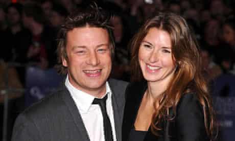 Jamie and Jools Oliver.