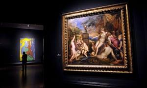 Titian's Diana and Callisto