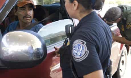 US Mexico border patrol