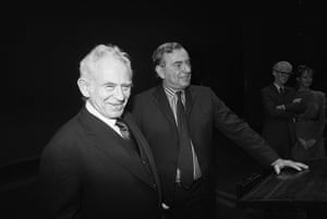 Gore Vidal obituary: 1985: American novelists Norman Mailer, (left), and Gore Vidal