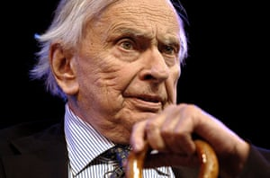 Gore Vidal obituary: 2008: Speaking at the The Guardian Hay Festival