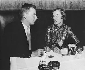 Gore Vidal obituary: 1950: New York socialite Gore Vidal and movie star Ella Raines