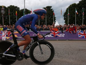 Kristin Armstrong has won the women's time trial