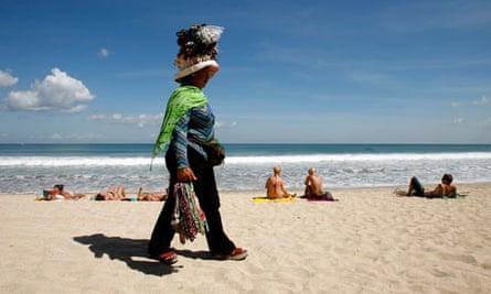 souvenirs bali beach
