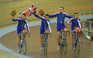 Wiggo Olympic medals : Team GB win bronze in the team pursuit