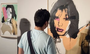 An Andy Warhol work at Tehran's Museum of Contemporary Art