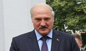 Belarus' president, Alexander Lukashenko