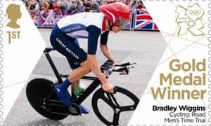 Bradley Wiggins stamp