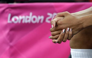 Nail art: Emmeline Ndongue