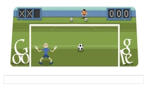 london 2012 football friday s google doodle game technology the guardian google doodle game