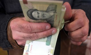 Banking sanctions are forcing Iranians to rely on a cash-based economy