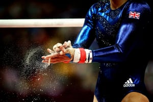 Top Ten: Team GB gymnastics women's team in action