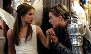 ROMEO + JULIET with Claire Danes and Leonardo DiCaprio