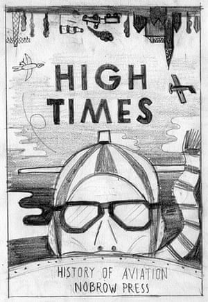 High Times: A rough for the cover