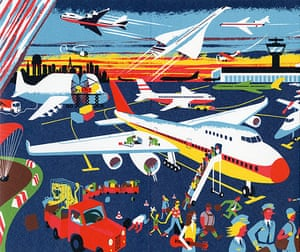 High Times: Commercial air travel features the Jumbo Jet and Concorde
