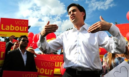 Ed Miliband for Corby byelection