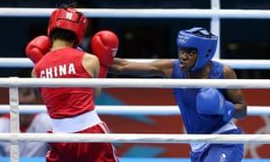 Nicola Adams winning the Olympic women's flyweight boxing