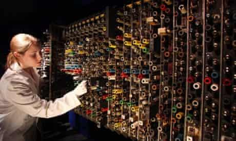 Alan Turing's Pilot ACE computer