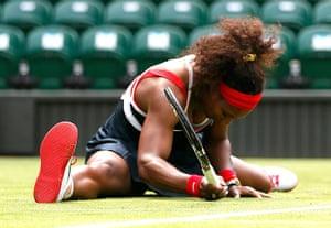 sporty: Serena Williams