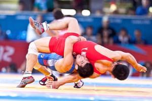 Guardian Bestpics: The match between Yun Won Chol of North Korea and South Korea's Choi Gyujin