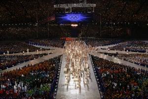 stage1: closing ceremony