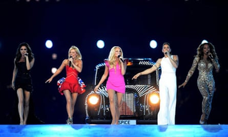 Olympics closing ceremony: The Spice Girls