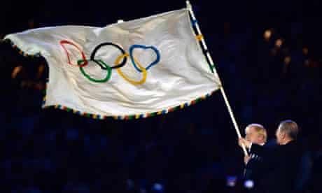 Boris Johnson and IOC president Jacques Rogge