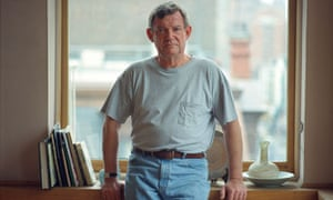 Robert Hughes at his apartment in New York in 1996