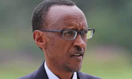 Paul Kagame, the Rwandan president
