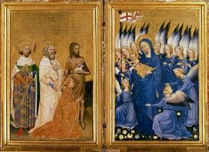 Story of British Art: The Wilton Diptych