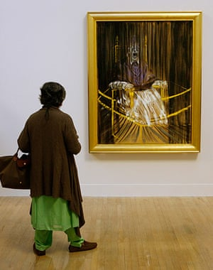 Story of British Art: Francis Bacon's Study after Velazquez's Portrait of Pope Innocent X