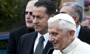 Paolo Gabriele with Pope Benedict XVI